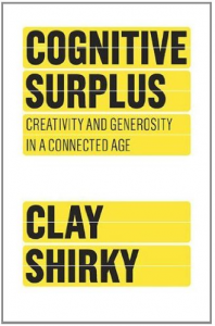 Cognitive Surplus Cover- Source Clay Shirky